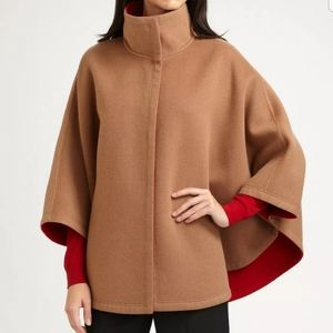 Lafayette 148 NY Reversible Double Faced Cape 1X
